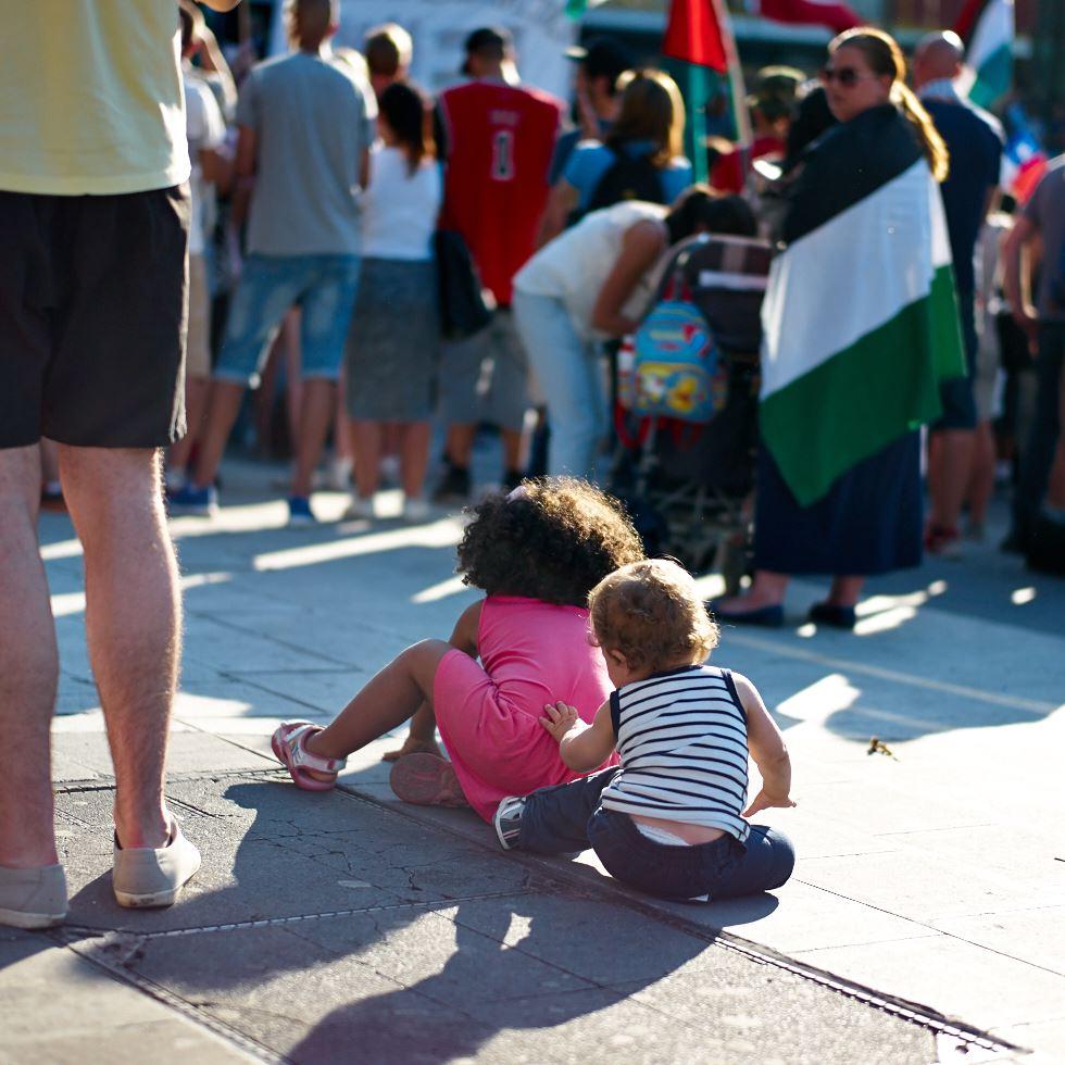 140723_L1005338 140723 Manifestation för Gaza