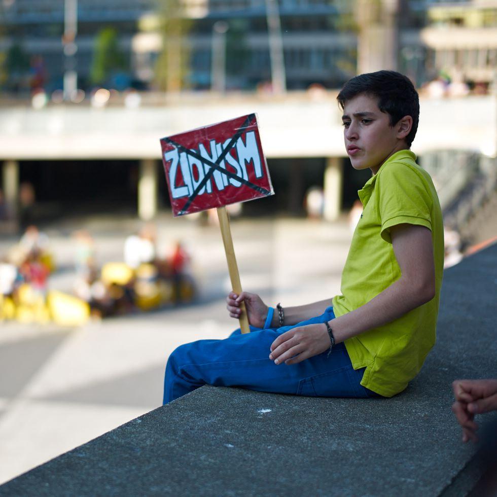 140723_L1005361 140723 Manifestation för Gaza