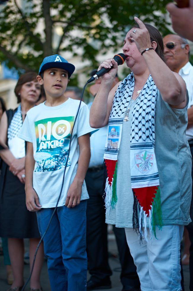 140723_L1005385 140723 Manifestation för Gaza