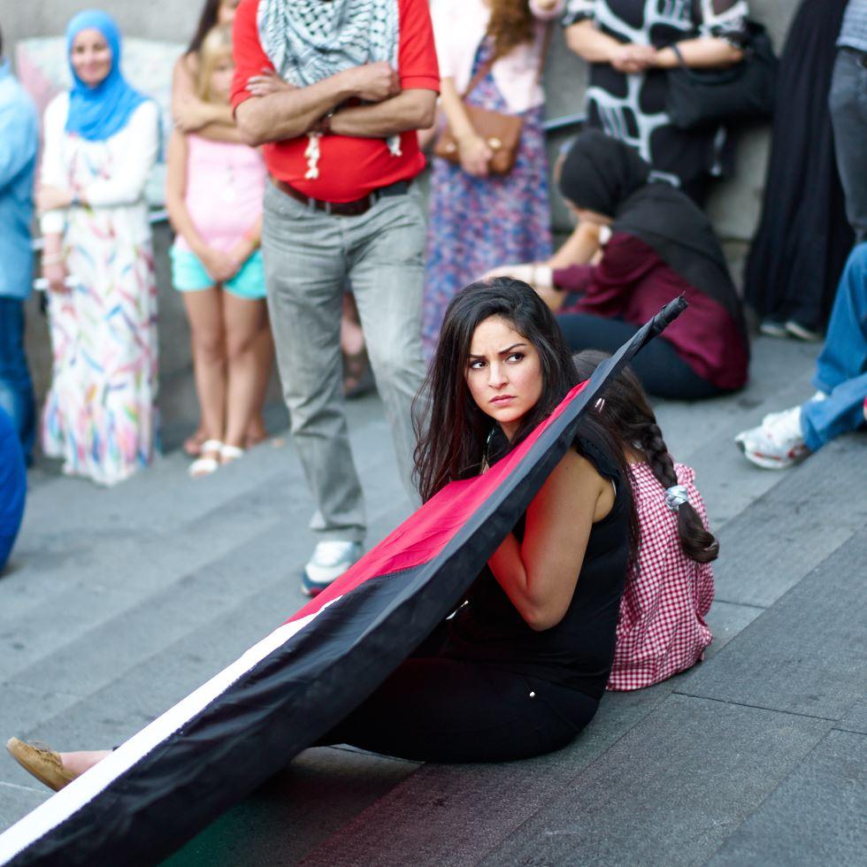 140723_L1005394 140723 Manifestation för Gaza
